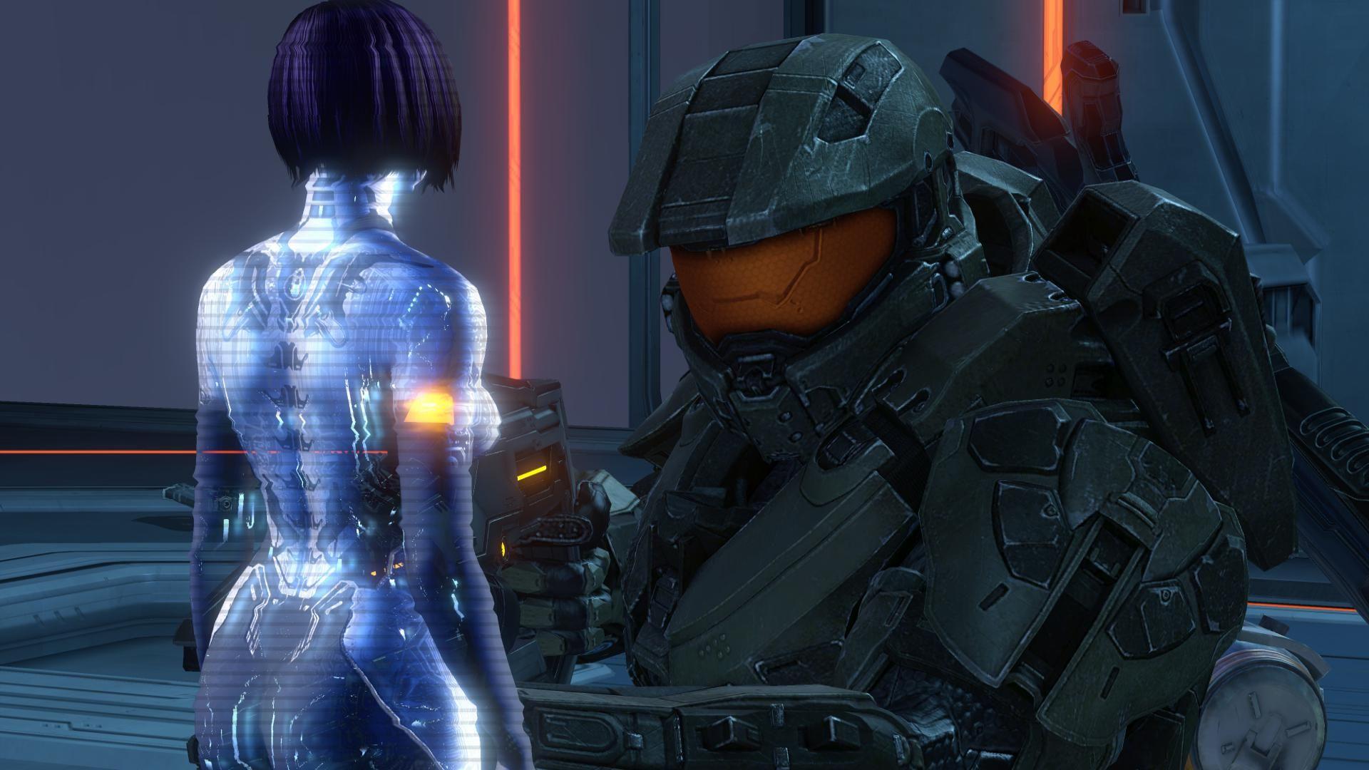 John-117 & Cortana in Halo 4 | halo | Halo, Master chief, Video games