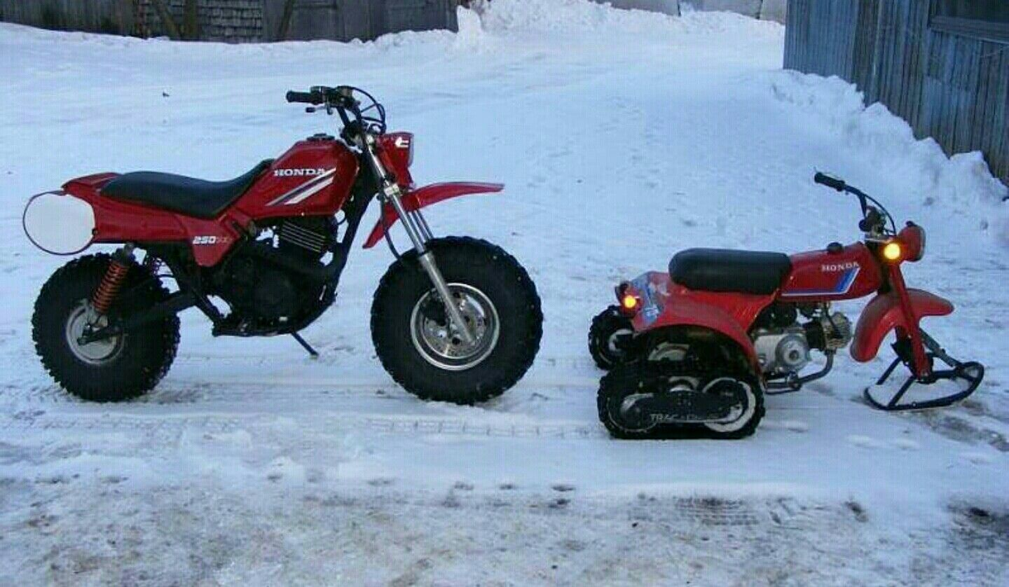 Sweet Lil 250sx 2 Wheeler Conversion And A Super Sweet 70 With Trax And Ski Drift Trike Dirtbikes Pit Bike