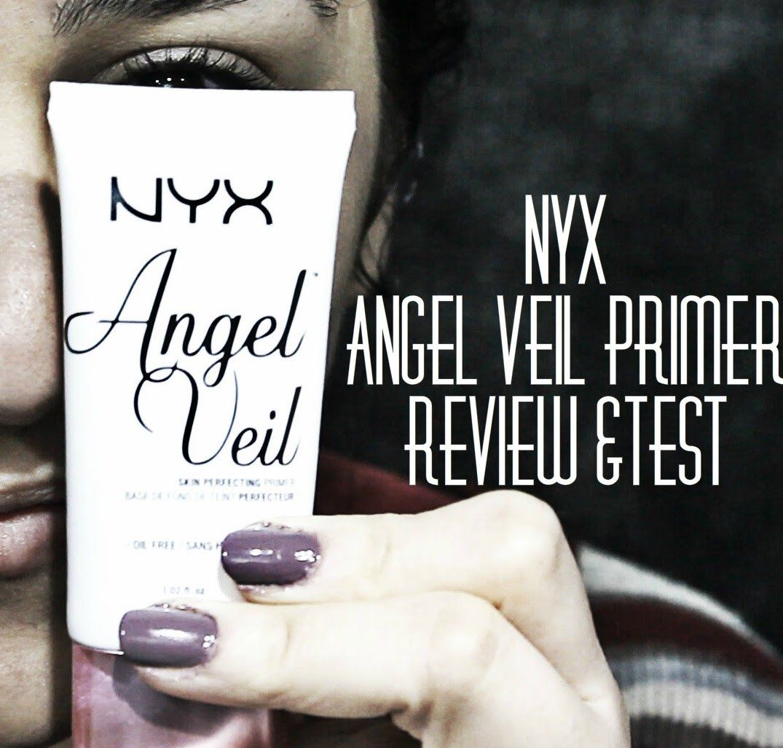 Nyx Angel Veil Primer Review Test انجل فيل برايمر ريفيو من نيكس Primer Fitness Beauty Youtube