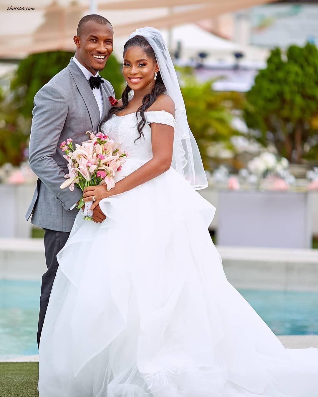 These Unseen White Wedding Photos Of Gideon Okeke And