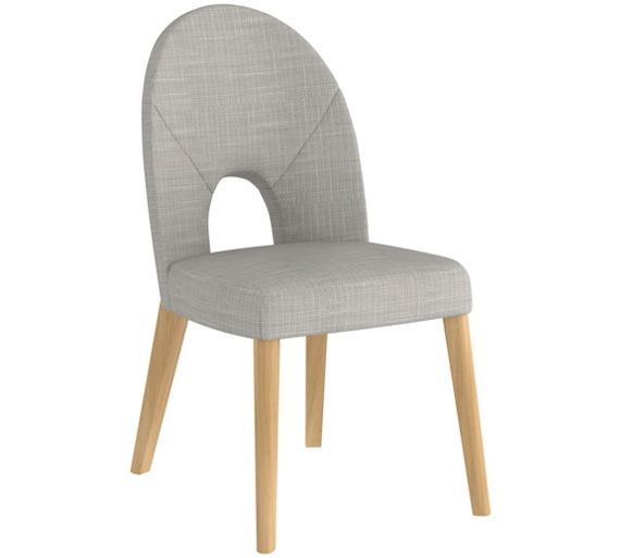 Buy Home of Style Hartwell Upholstered Pair of Chairs at Argos