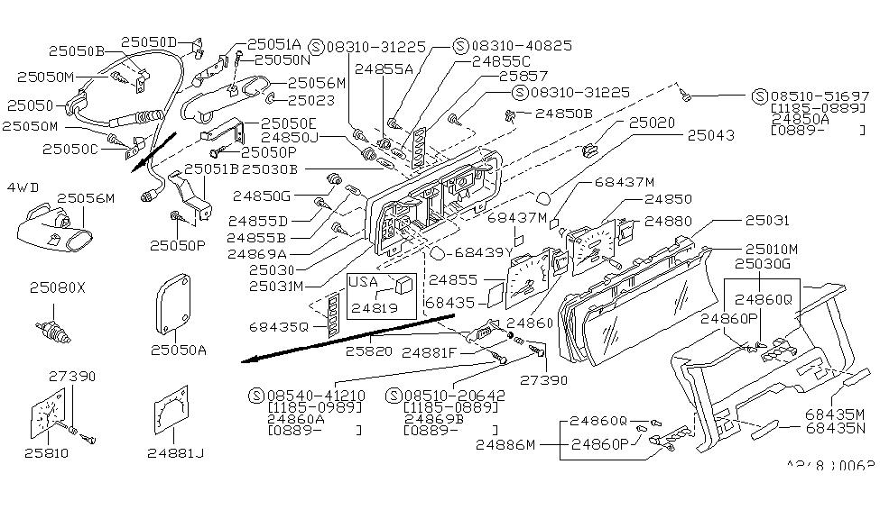 1991 Nissan Hardbody Pickup (1986.5-1994) Parts