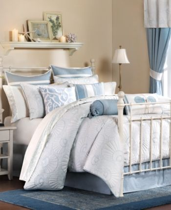 Harbor House Crystal Beach 4-Pc. Full Comforter Set & Reviews - Home - Macy's