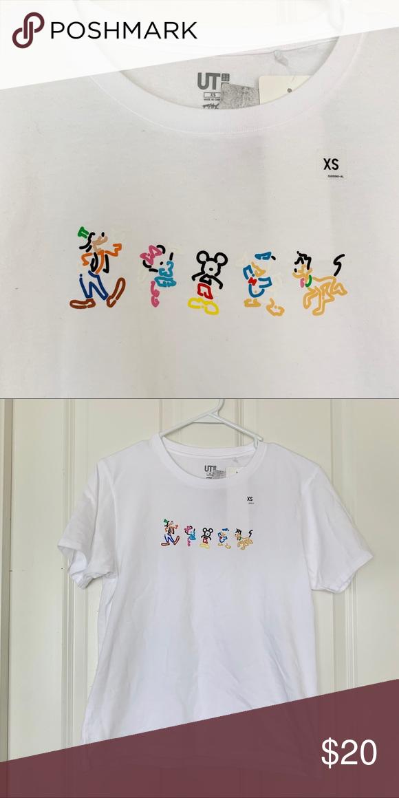 Uniqlo X Disney Fab 5 Tee Nwt Uniqlo Uniqlo Tops Tees