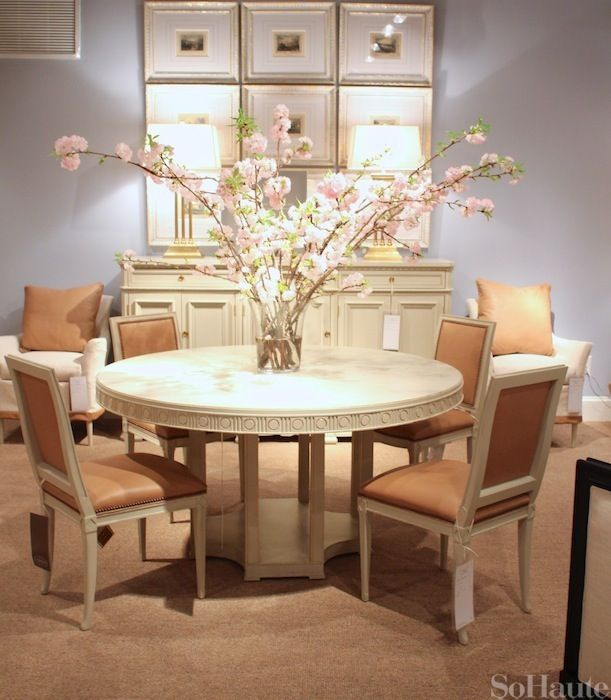 Fabulous Dining Chairs By Suzanne Kasler For Hickory Chair
