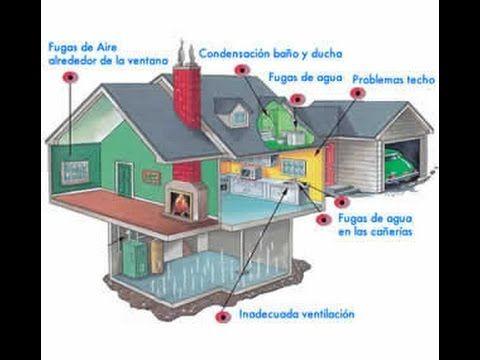 Como eliminar humedad en paredes techos cimientos casi - Quitar humedad pared ...