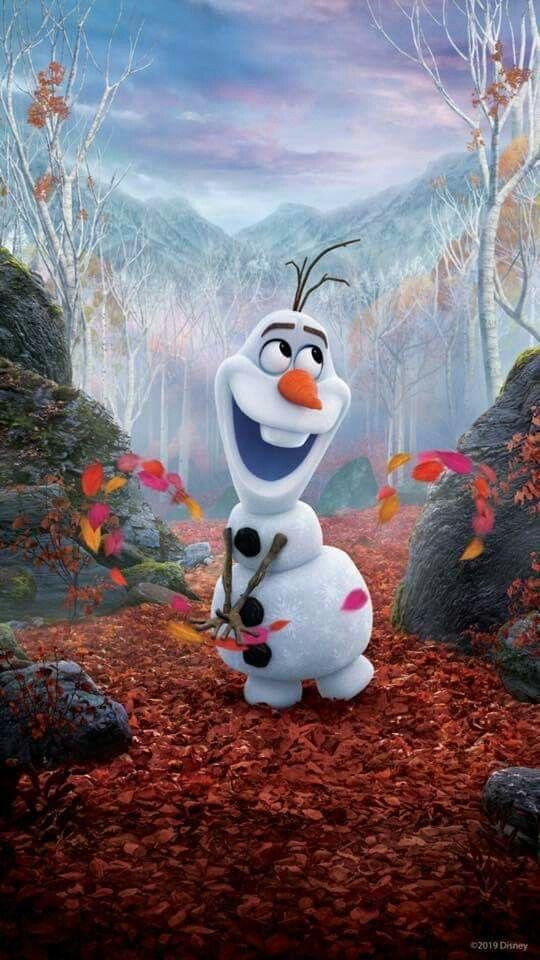 Frozen 2 (2019) Phone Wallpaper Рисунки диснея, Мультики