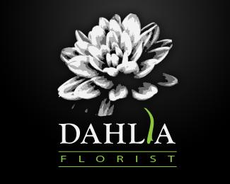 Dahlia Florist By Dawo Flower Logo Flower Logo Design Logo Design