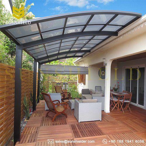 Polycarbonate Veranda - Fixed Roof Patio - Sunshield ... on Cheap Patio Enclosure Ideas  id=48656