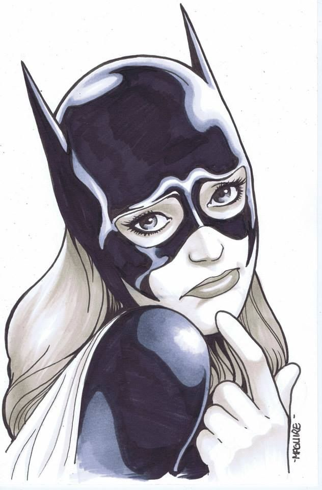 Batgirl by Kevin Maguire *