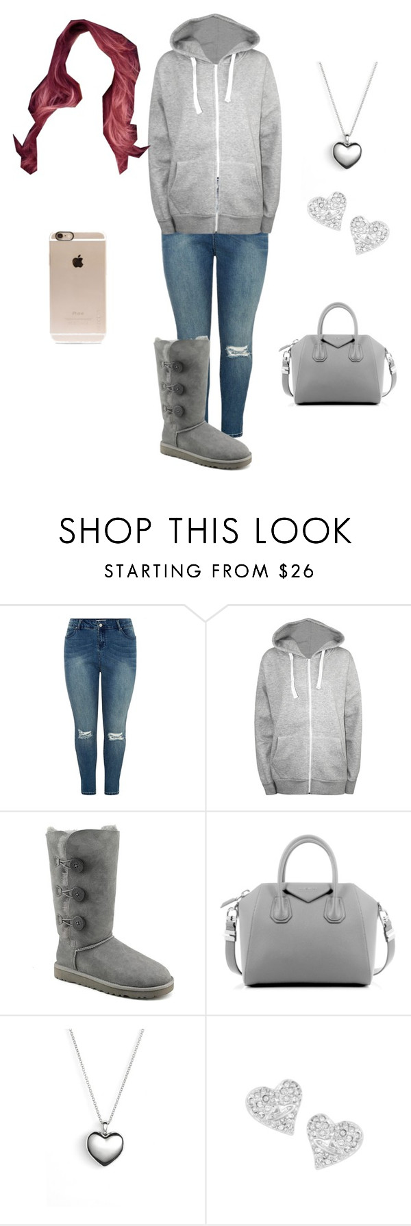 """Casual day"" by tianna-rose-richardson ❤ liked on Polyvore featuring WearAll, UGG Australia, Givenchy, Pandora, Vivienne Westwood, Incase, women's clothing, women, female and woman"