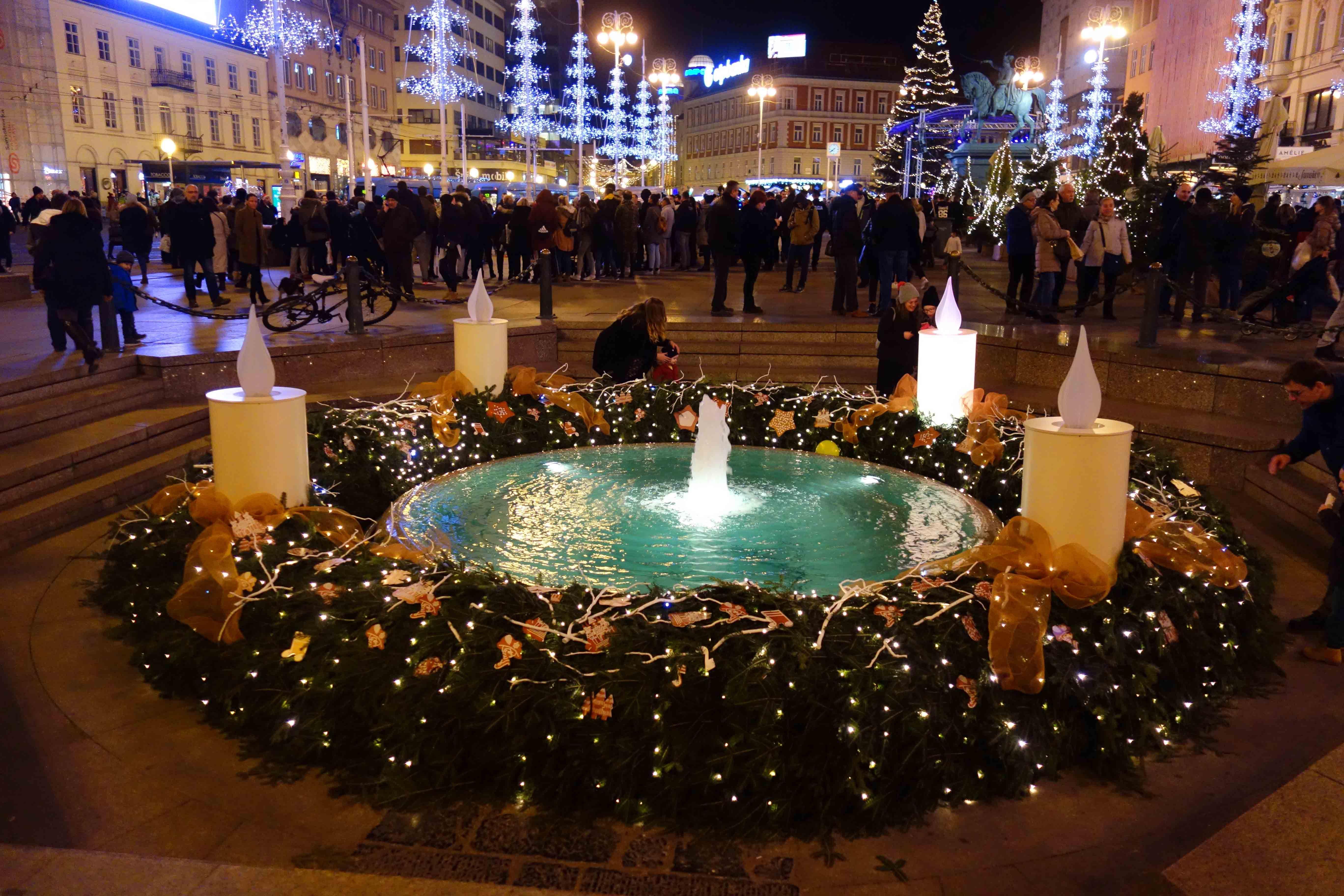 Advent Zagreb Alle Jahre Wieder Weihnachtsmarkt Zagreb Advent Weihnachtsmarkt