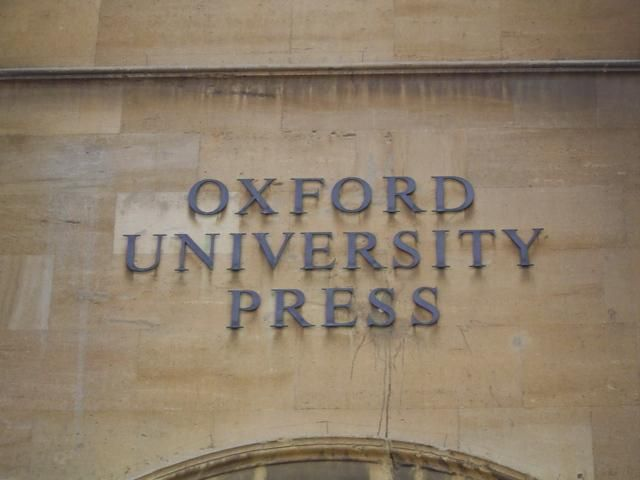 Oxford University Press Is Located In The Jericho Neighborhood Of - Where is oxford located