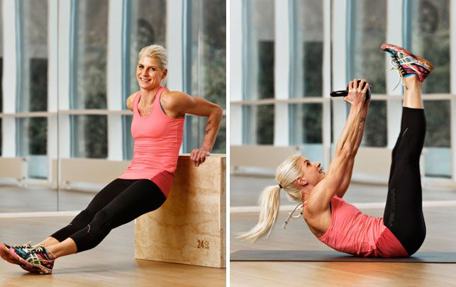 Rikke Hørlykke: 6 øvelser til stærke arme, stramme balder & flad mave | Fit-Living | Pinterest ...