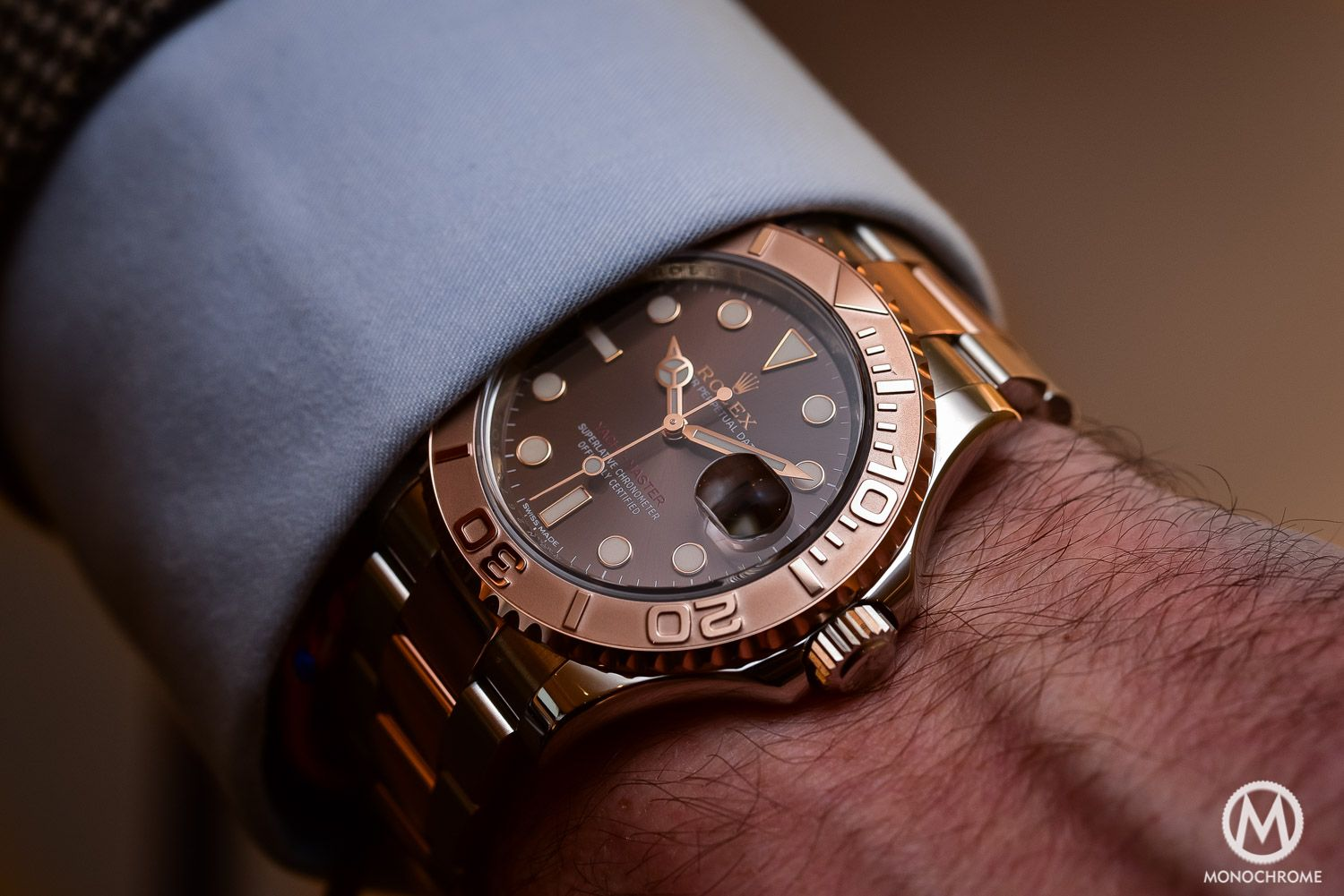 fb7c2b641331 Rolex Yacht-Master 116621 40mm Two-Tone (Review