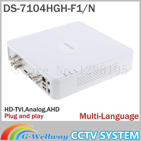 NVR POE 4CH HD Mini IP 1080P CCTV Digital Network Video Recorder DS-7104N-SN