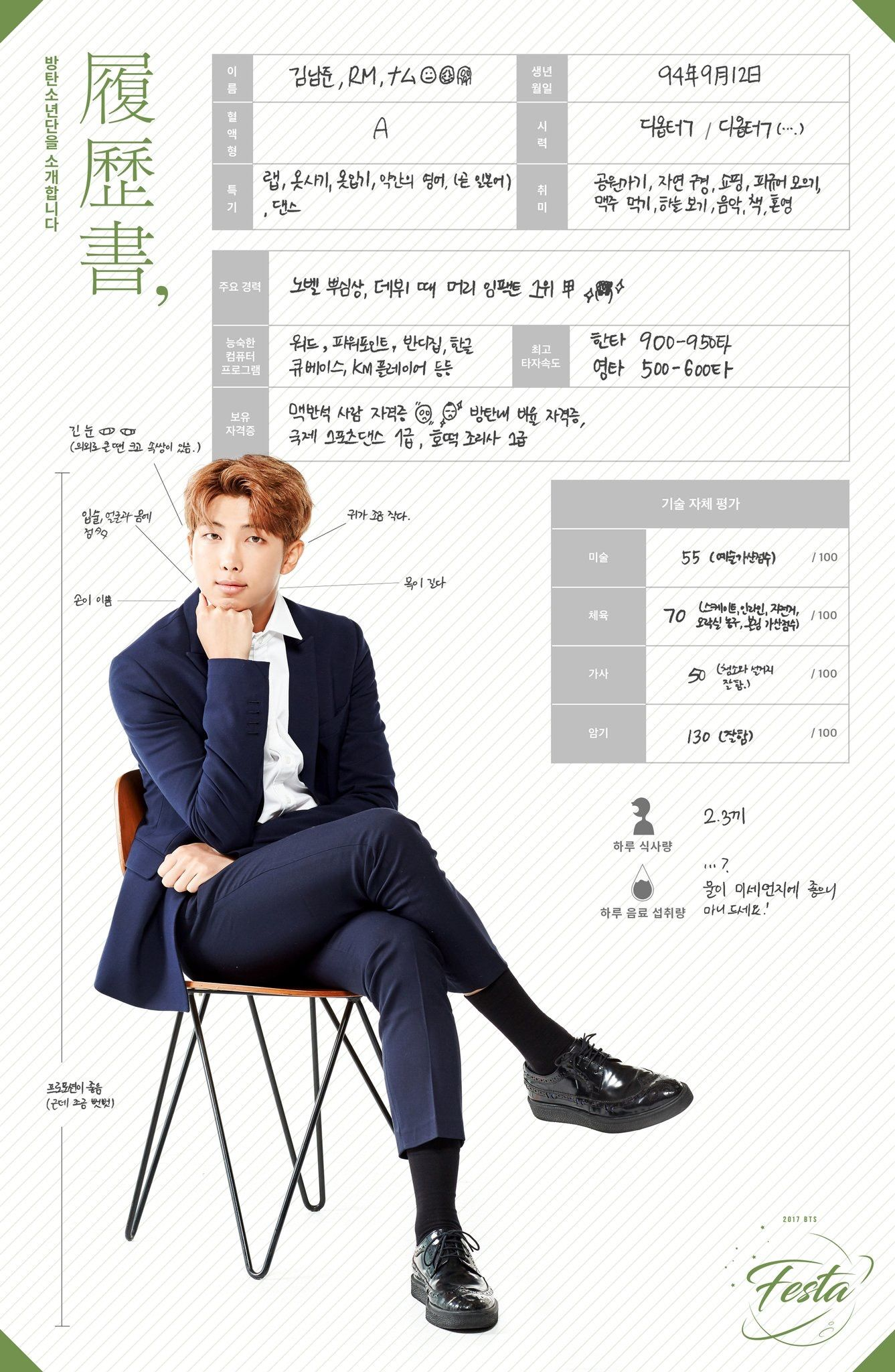 resume Rap Resume bts resume rap monster festa 2017 pinterest monster