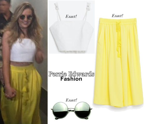 Arriving At The Airport In Manila 19 05 2016 Perrie Was Wearing