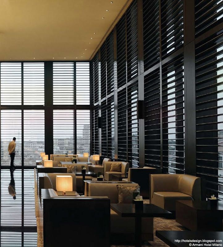 Armani hotel milano les plus beaux hotels design du monde for Design hotel milano