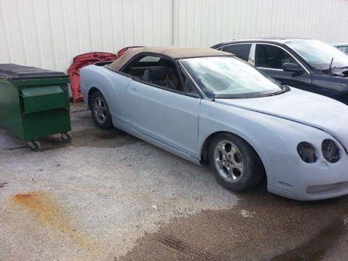 Bentley Conversion Kit On A Chrysler Sebring Convertible Image 14