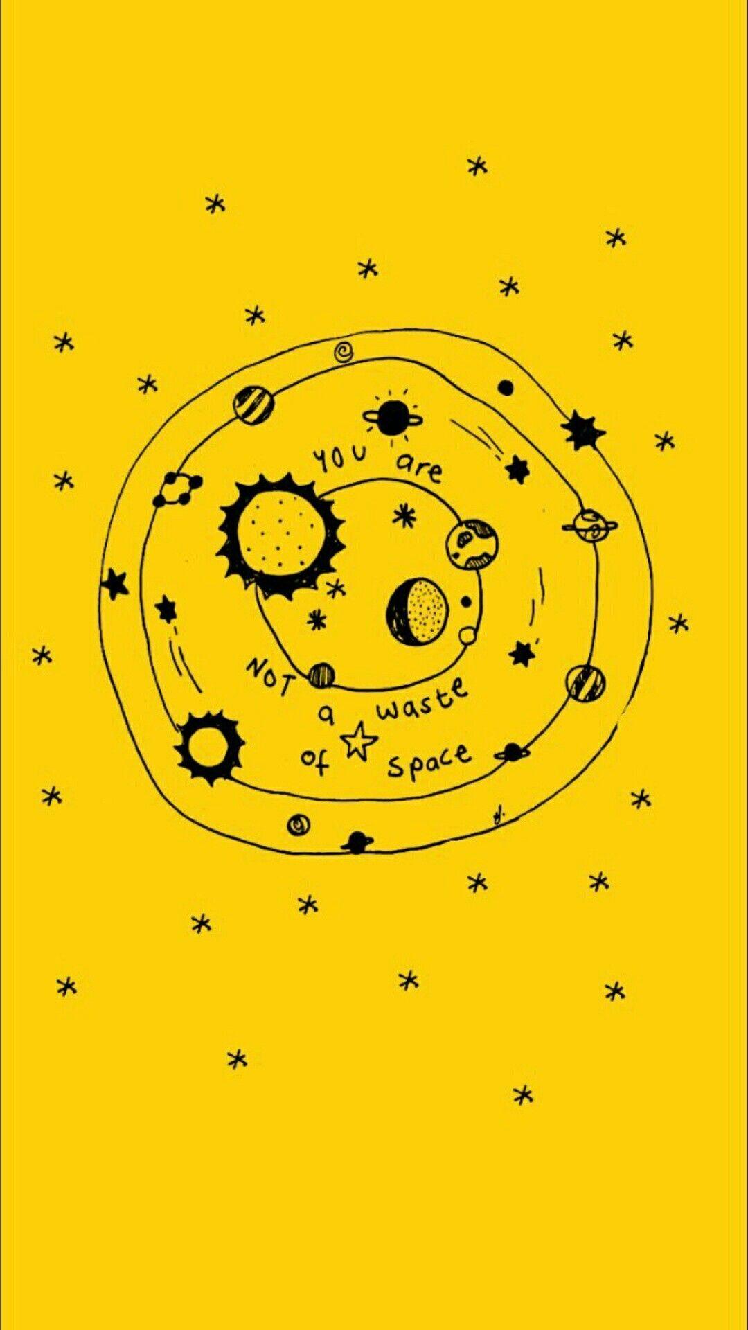 Pinterest Sadie Joyce Yellow Aesthetic Yellow Wallpaper Quote Aesthetic
