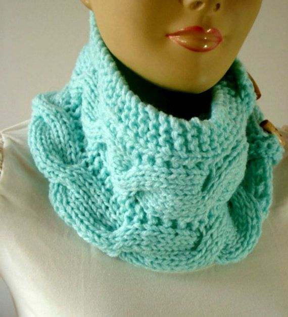 KNITTING PATTERN COWL Scarf  Mindy Cowl with by LiliaCraftParty