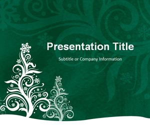 Pine green powerpoint template is a free background template with pine green powerpoint template is a free background template with the christmas tree design in the toneelgroepblik Choice Image