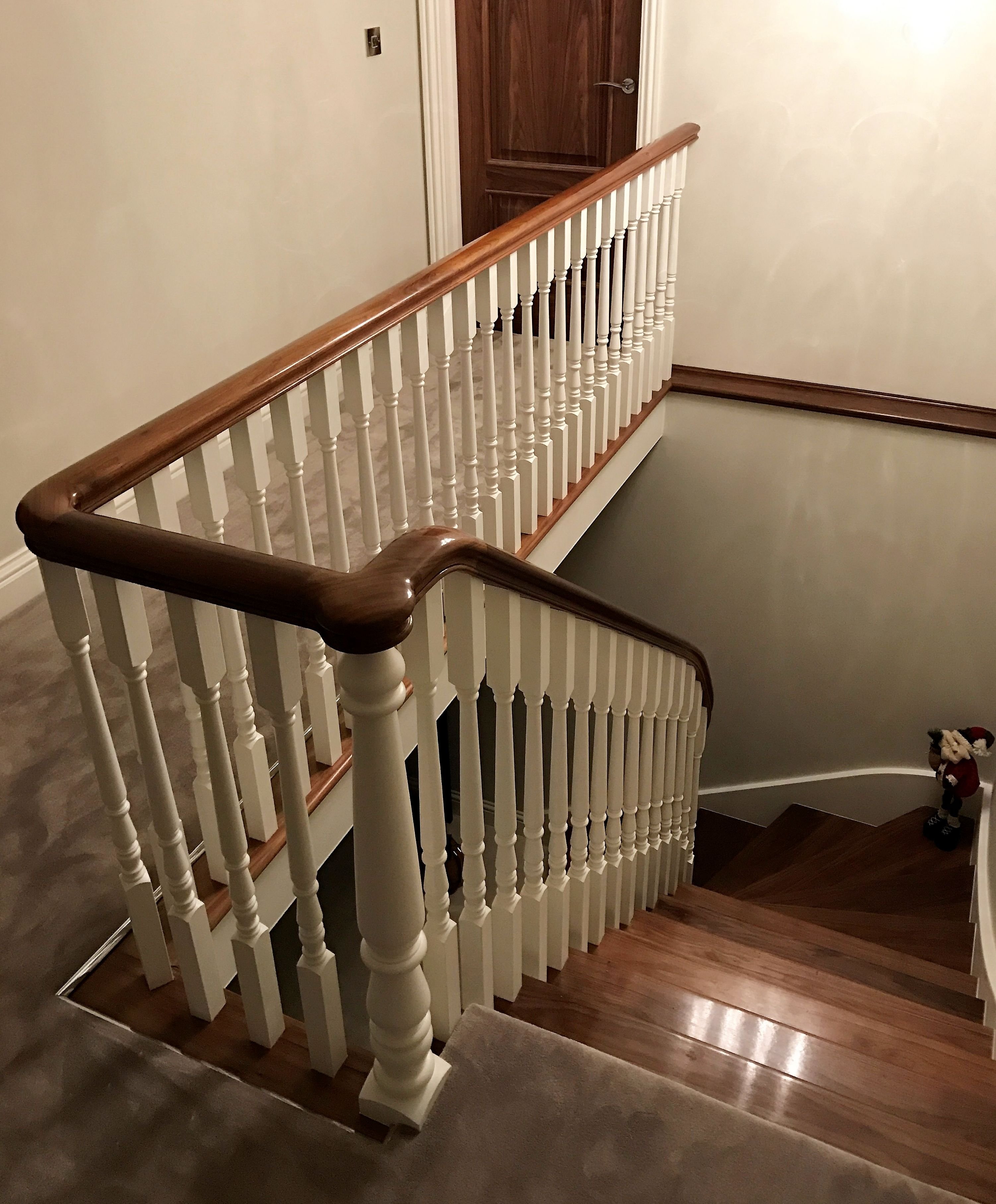 Polished Walnut Staircase In 2019