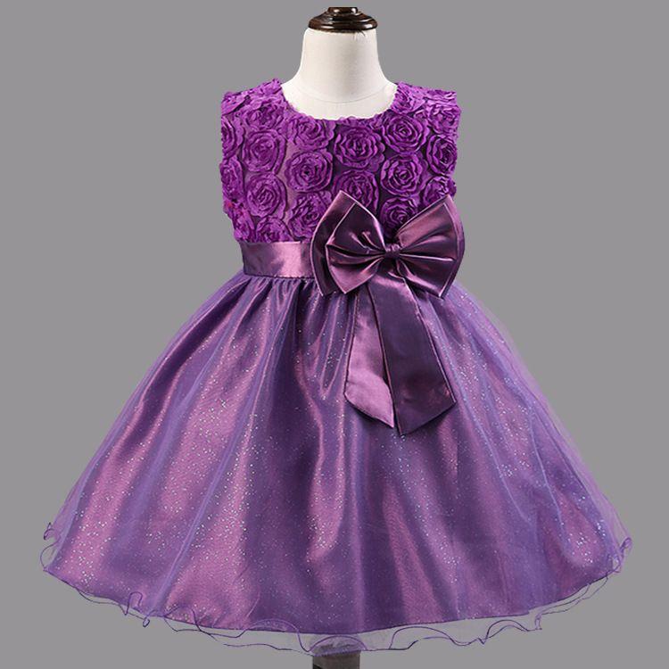 Flower girl dresses for weddings girls pageant dresses for for Fat girl wedding guest dress