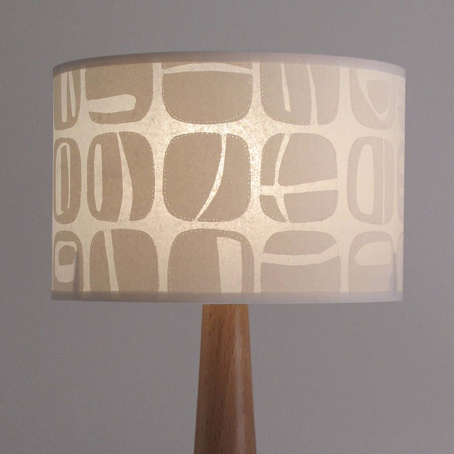 Retro pebble lampshade lampshades mid century modern and mid century retro pebble lampshade aloadofball Gallery