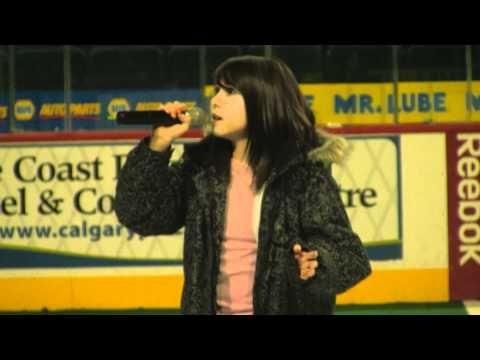 """Reach"" Calgary Saddledome Rehearsal Calgary Roughnecks"