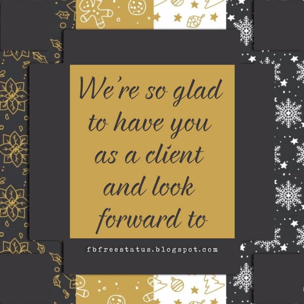 christmas greeting messages for business with images