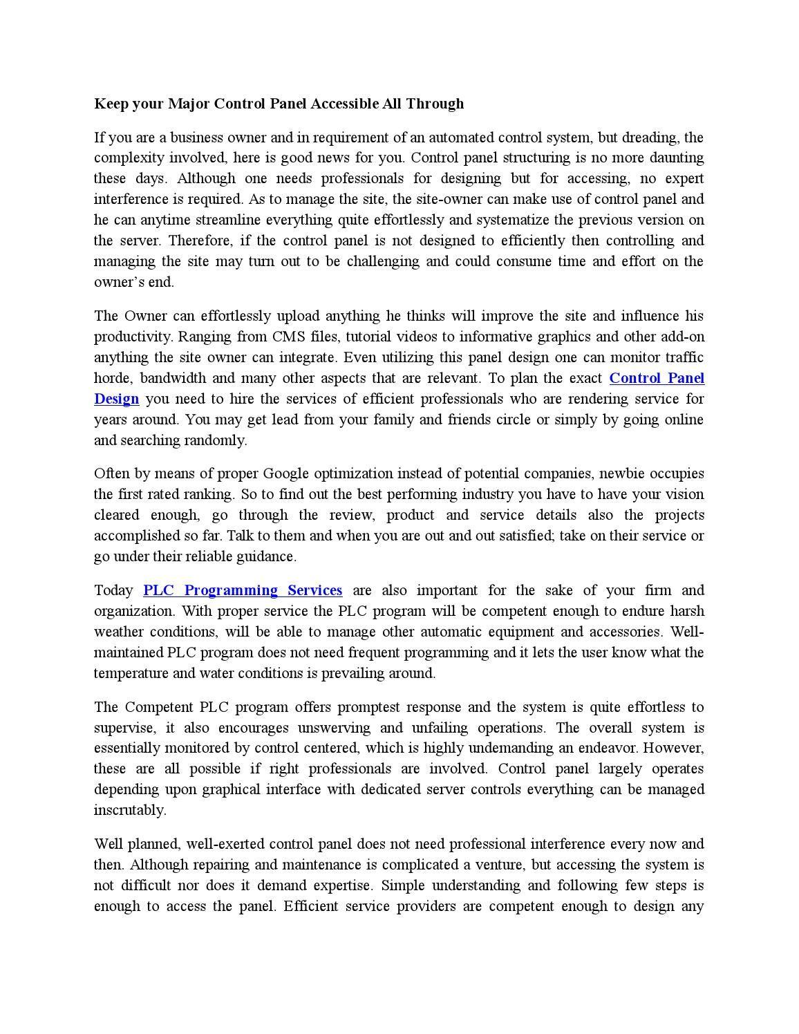 Competent design of the essay