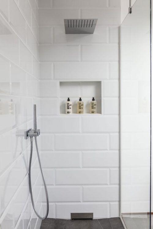 witte-#metrotegels-#badkamer | Bathroom | Pinterest | Master ...