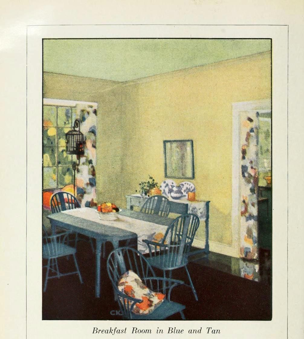 The Home Manual of Painting from Sherwin-Williams 1922 - breakfast ...