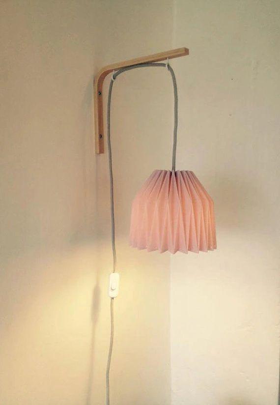 Decouvrez Lampe De Chevet Applique Murale En Origami Sur