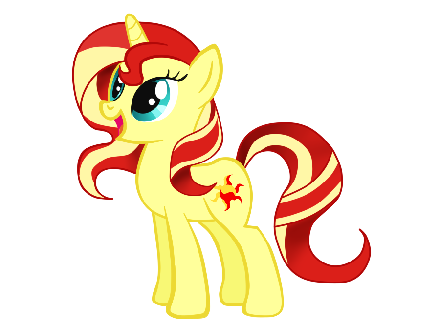 sunset shimmer vector by kaiilu deviantart com on deviantart my rh pinterest com Vector Colorful Music Notes Music Note Icon