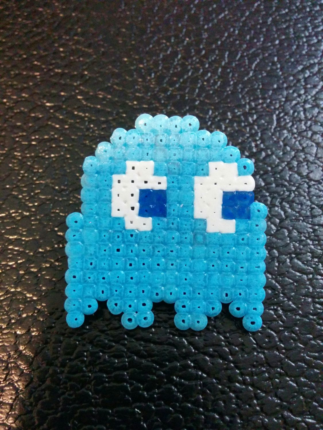 New to PixelArtLove on Etsy Pac Man Ghost Fanart Pin 8 00 USD