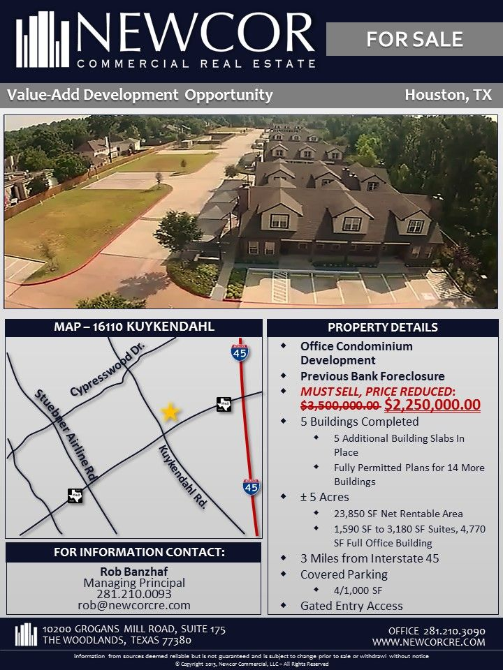Must Sell Price Reduced Investment Development Opportunity Houston Tx Real Estate Values Real Estate Ads Investing