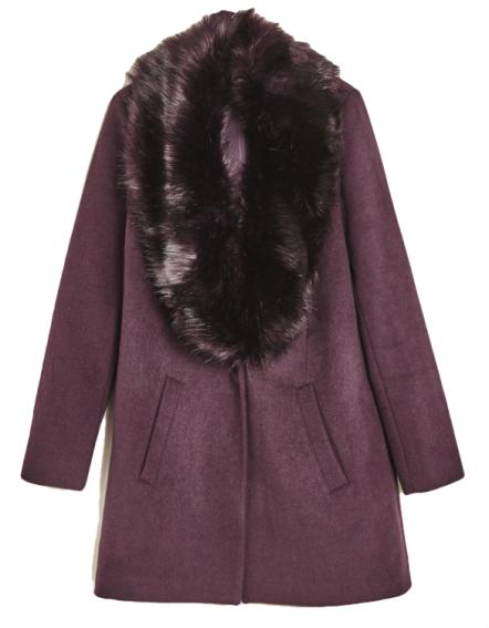 rencontrer 8e28c 81006 manteau-en-laine-bordeaux-a-col-de-fourrure-jennyfer   coat ...