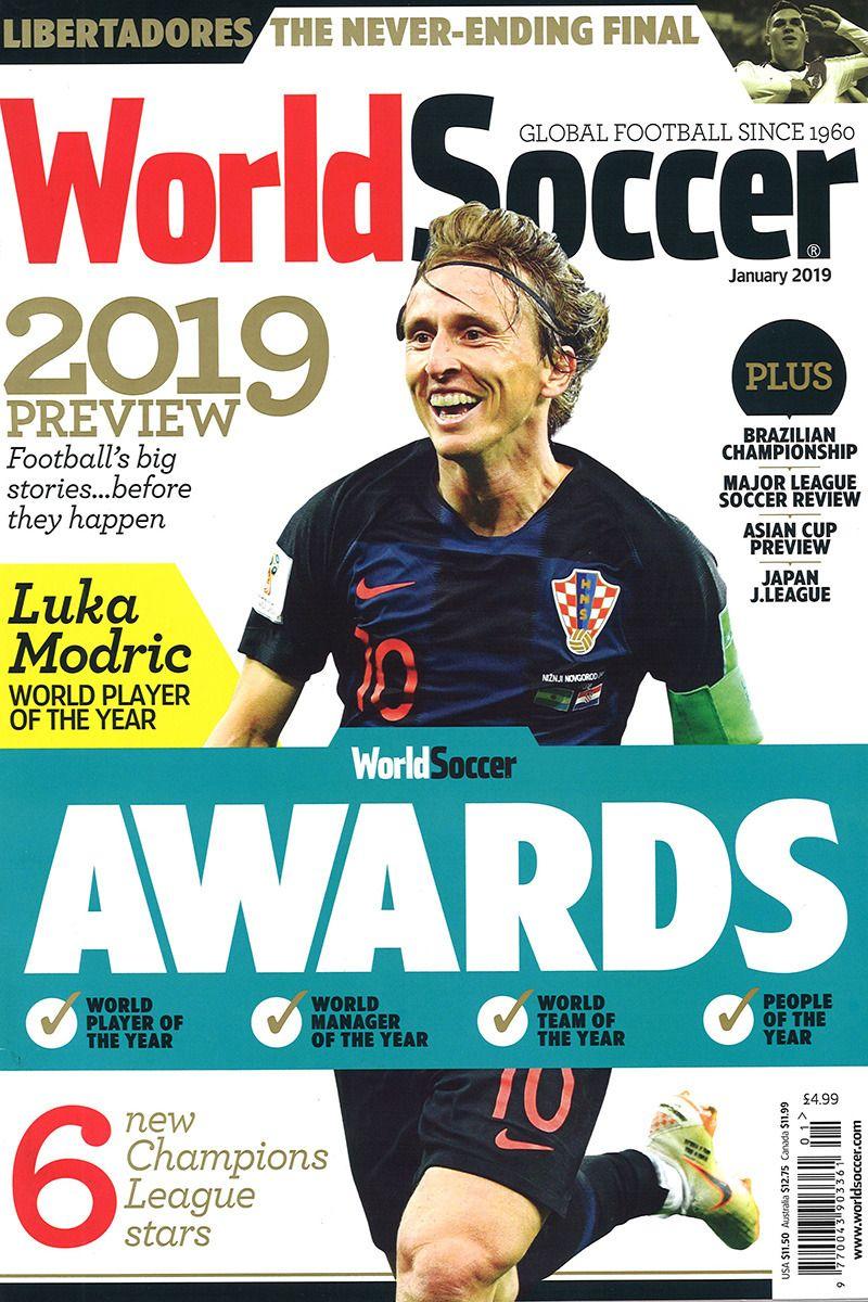 World Soccer January 2019 World Soccer Magazine Sports Magazine News Magazines