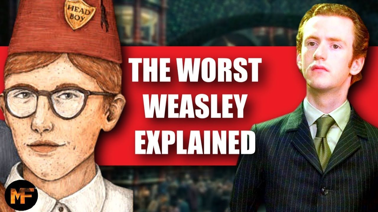 The Entire Life Of Percy Weasley Harry Potter Explained Percy Weasley Weasley Harry Potter Weasley