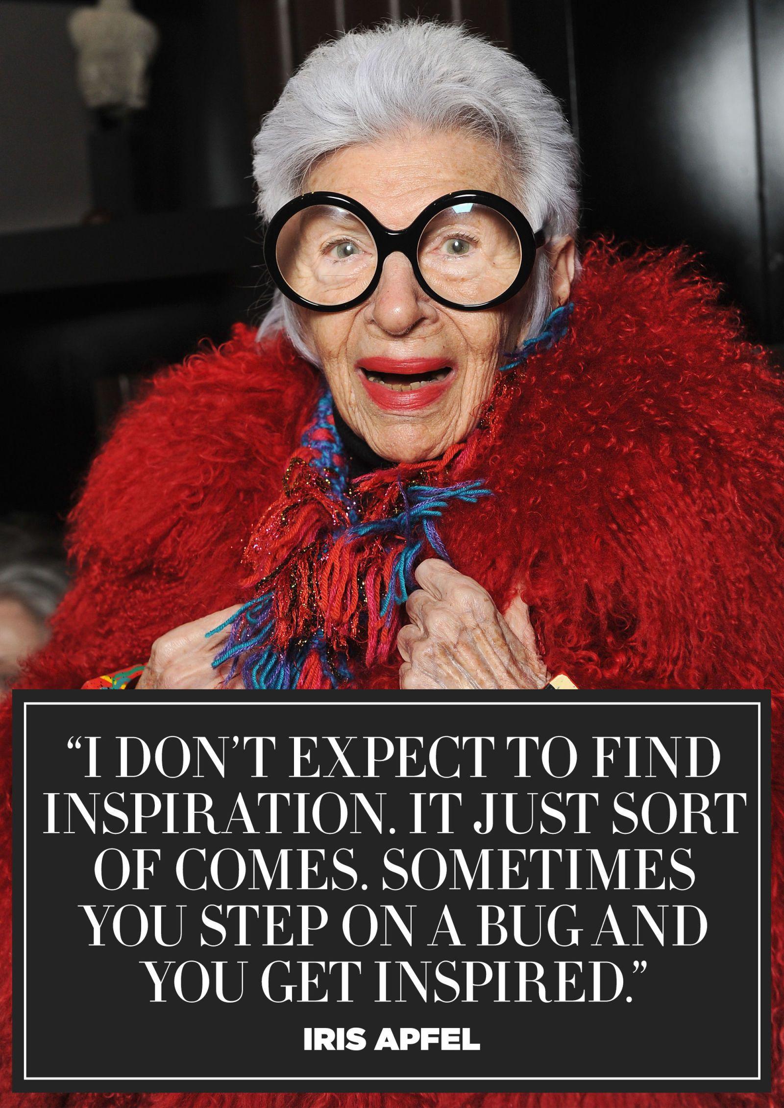 8cf1be59094 11+Inspiring+Quotes+from+Fashion+Icon+Iris+Apfel - HarpersBAZAAR.com