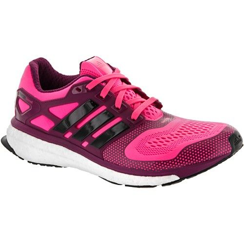 outlet store 9d788 fcf6b adidas Energy Boost 2 ESM Womens Neon PinkBlackTribe Berry at  holabirdsports.com