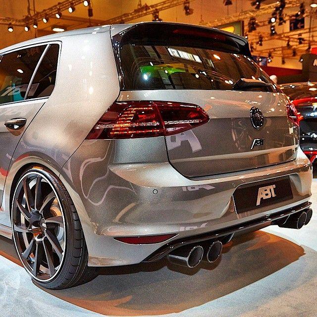 Abt Wheels Round Tailpipes Vw Golf Vr6 Volkswagen Golf R Vw Golf
