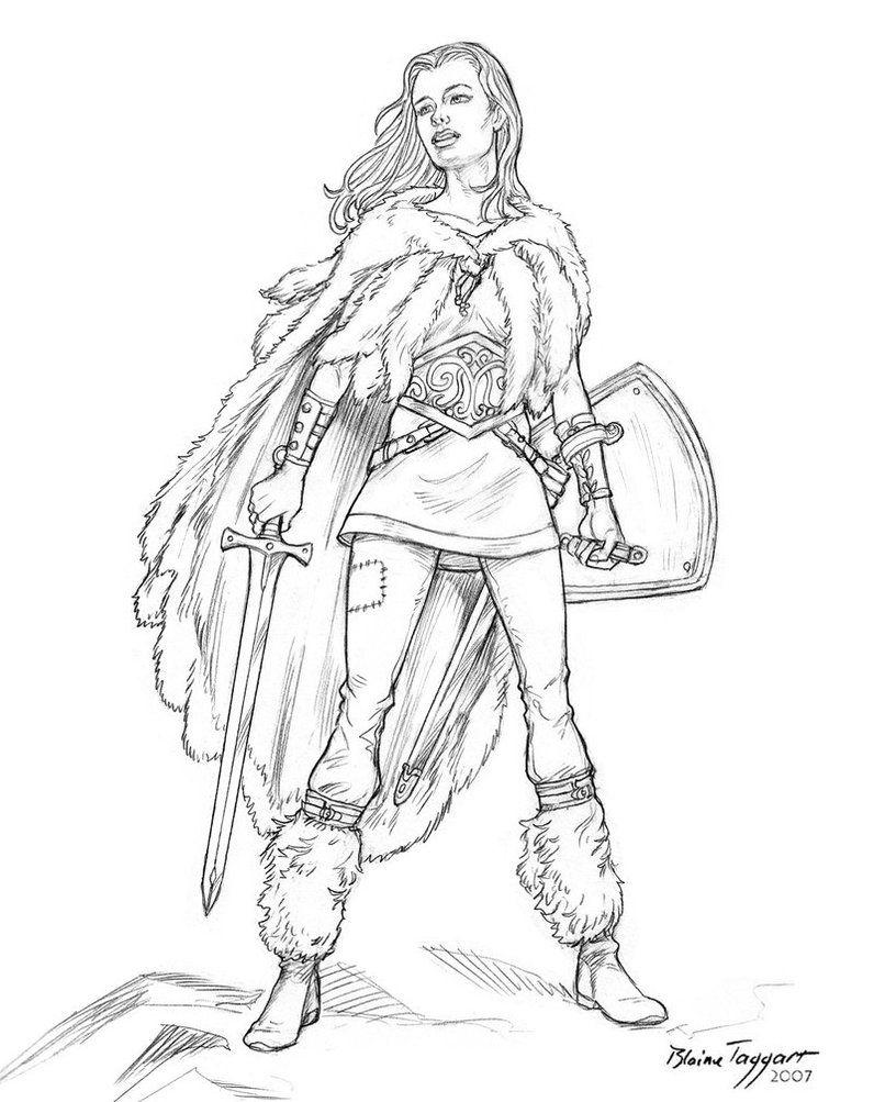 Warrior Girl By Staino On DeviantArt
