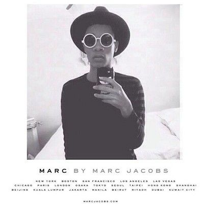 Marc Jacobs is a huge inspiration to me. I read about him in the Teen Vogue Fashion Handbook that they released several years ago. I love his story and find similarities with my life and his.