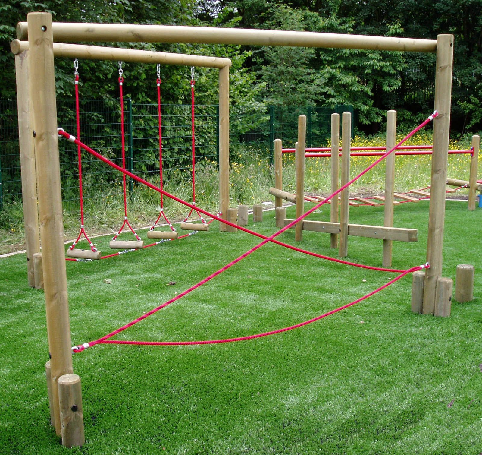 Backyard Obstacle Course, School Playground