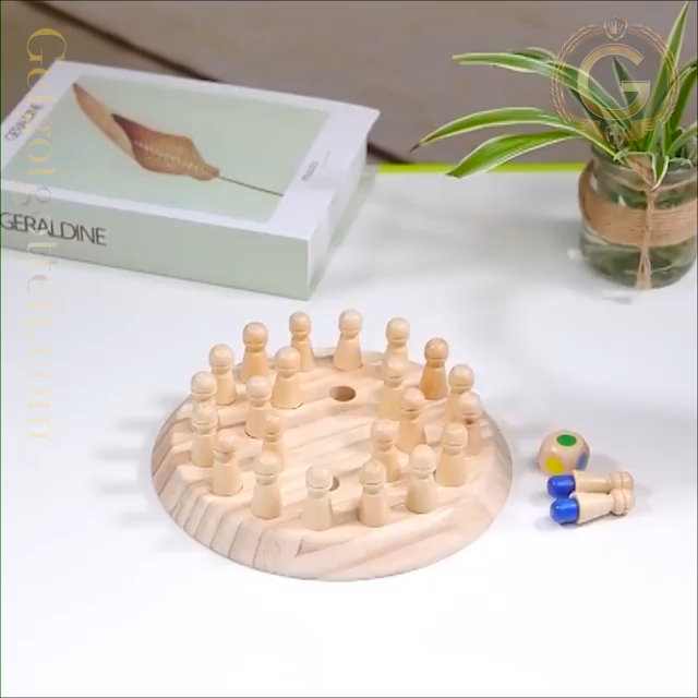 Wooden Memory Chess Game – Best Price on Bizzoby