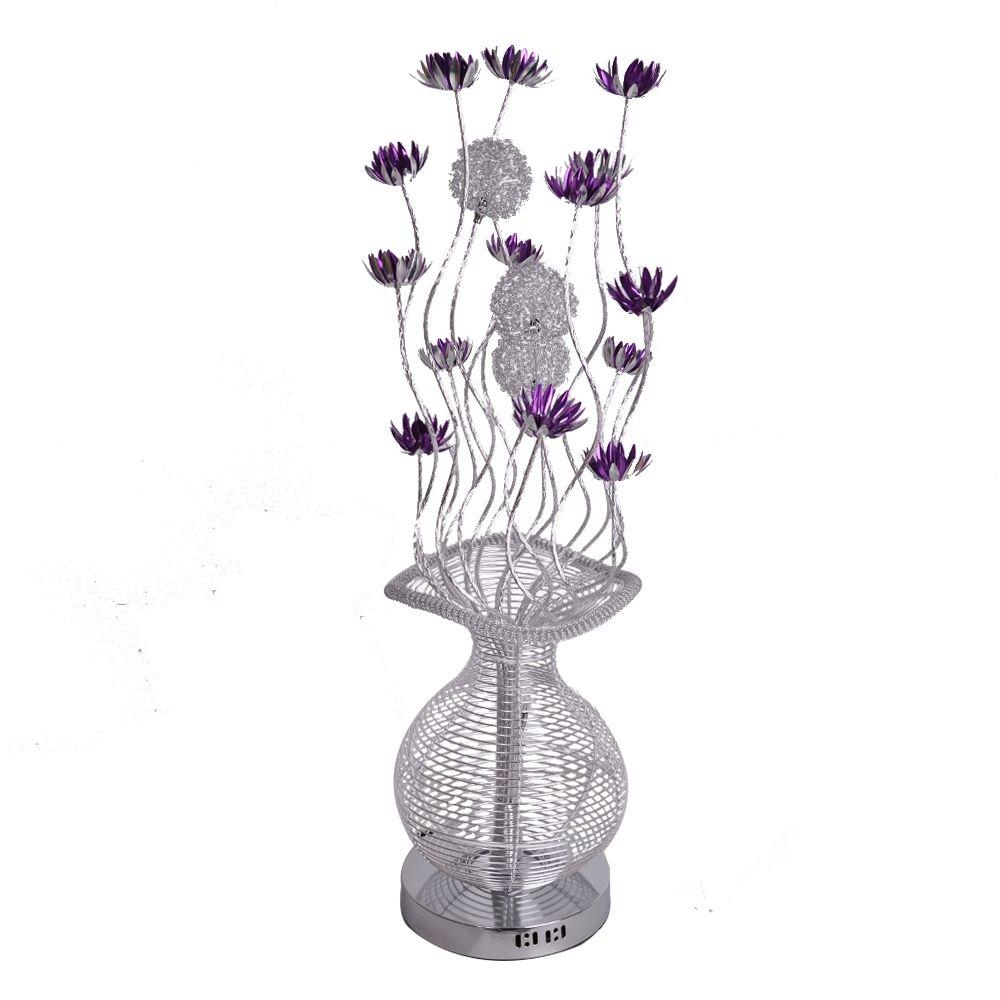 Crystal Flower Vase Lamp | Vase | Pinterest | Crystal flower, Flower ...